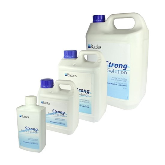 Picture of Strong Iodine Solution