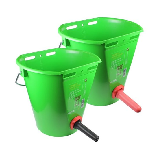 Picture of Kerbl Feeding Bucket with Super Teat or Vital Teat