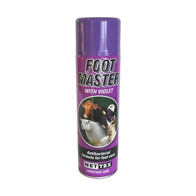 Picture of Foot Master - Antibacterial Purple Spray 500ml