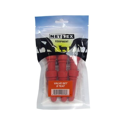 Picture of Teat Feeder Bucket Teats (6 Pack)
