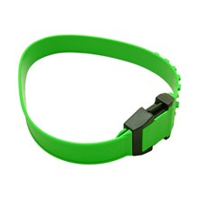 Picture of Green Short Collar for Cattle