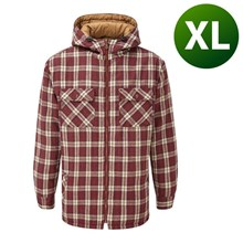 Picture of Penarth Hoodie Red - Extra Large