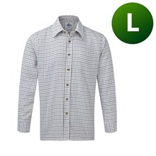 Picture of Tattersall Shirt Blue - Large