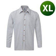 Picture of Tattersall Shirt Blue - Extra Large