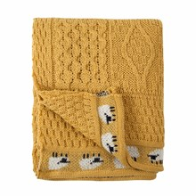 Picture of British Wool Throw - Sun Flower