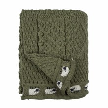 Picture of British Wool Throw - Apple
