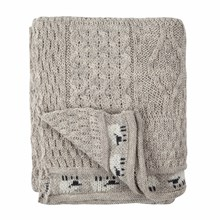 Picture of British Wool Throw - Oatmeal