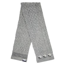 Picture of British Wool Scarf - Light Grey