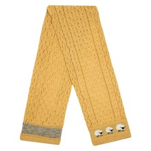 Picture of British Wool Scarf - Sunflower