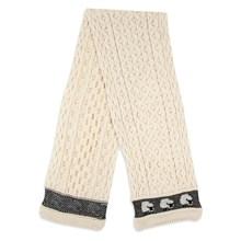 Picture of British Wool Scarf - Ecru