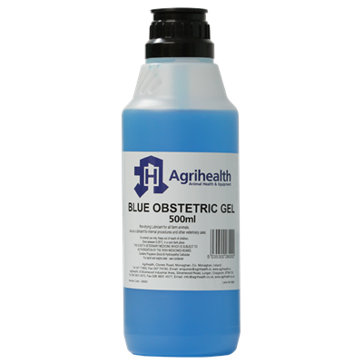 Picture of Agrihealth Blue Obstetrical Lubricant Gel